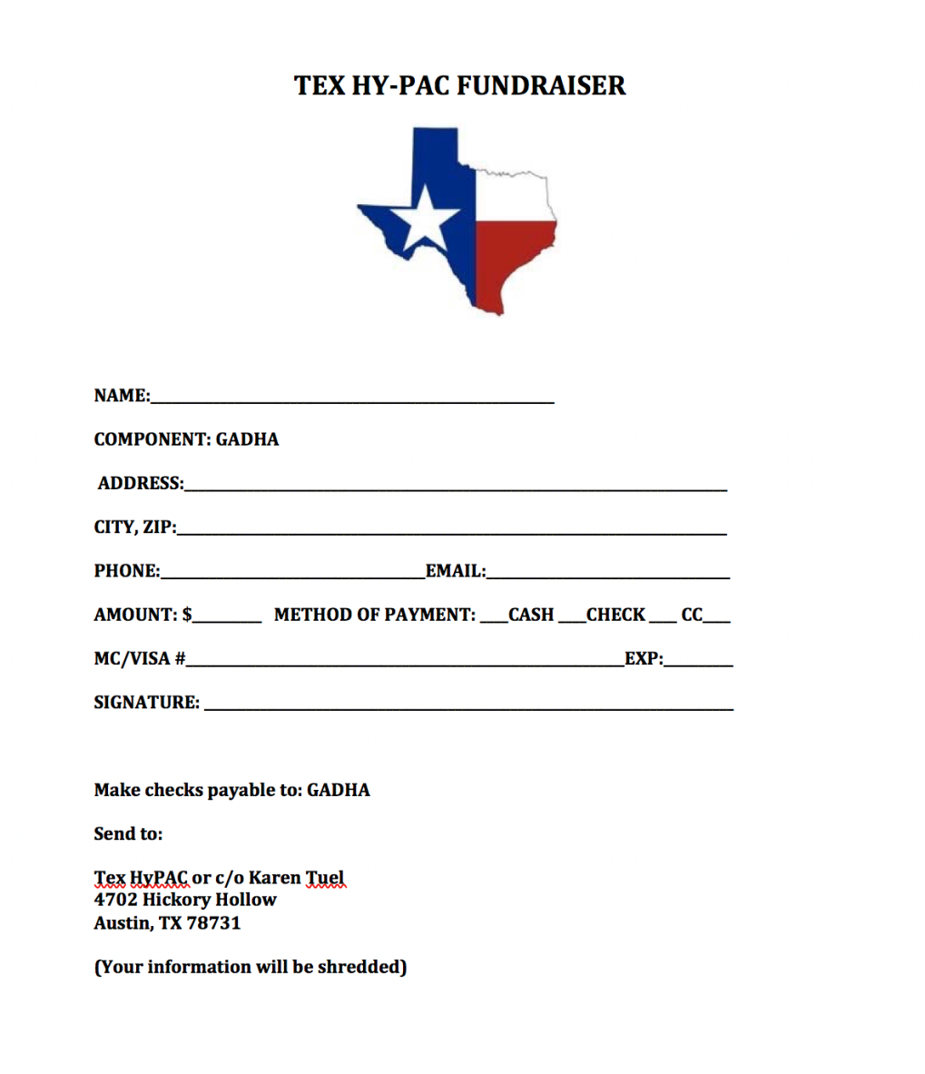 HYPAC Donation Form