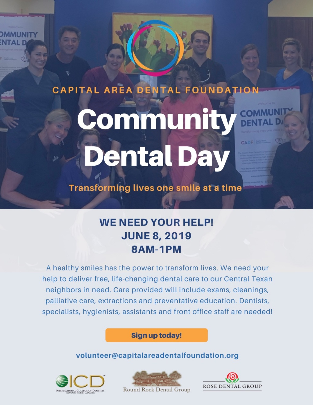 CADF Community Dental Day Flyers - June 2019_LINK