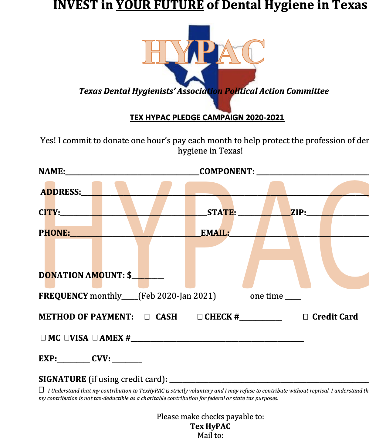 Recurring Donation Form